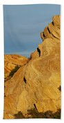 Vasquez Rocks State Park, Sunset Bath Towel