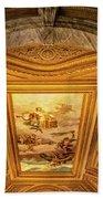 Vatican Museum Painted Ceiling Bath Towel