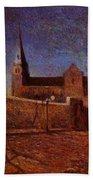 Vaugirard Church 1879 Bath Towel