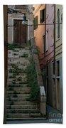 Venice Alleyway Bath Towel