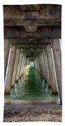 Venice Pier Bath Towel