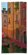 Venice Sentimental Journey Bath Towel