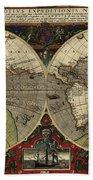 Vera Totius Expeditionis Nauticae Of 1595 Bath Towel