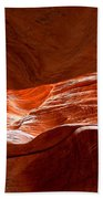 Vermilion Cliffs Abstract Bath Towel