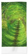 Vertical Tree Tunnel Bath Towel