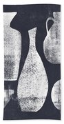 Vessel Sampler- Art By Linda Woods Bath Towel