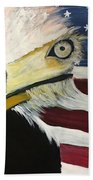 Veteran's Day Eagle Hand Towel