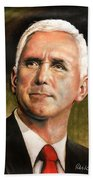 Vice President Mike Pence Portrait Hand Towel