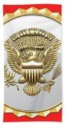 Vice Presidential Service Badge Bath Towel