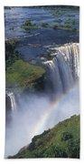 Victoria Falls Rainbow Hand Towel