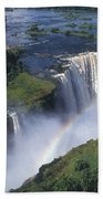 Victoria Falls Rainbow Bath Towel
