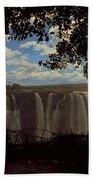 Victoria Falls, Zimbabwe Bath Towel