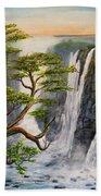 Victoria Falls Zimbabwe  Bath Towel