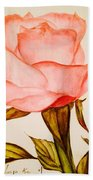 Victorian Rose  Bath Towel