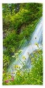 Vidae Falls, Oregon Bath Towel