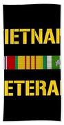 Vietnam Veteran Ribbon Bar  Bath Towel