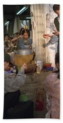 Vietnamese Street Food Bath Towel