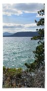 View From Incline Village Bath Towel