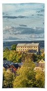 View From Kuks Hospital - Czechia Bath Towel