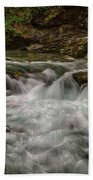 View In Vintgar Gorge #2 - Slovenia Bath Towel