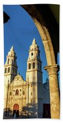 View Of Cathedral And Arches Bath Towel