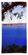 View Of  Central Coast From West Head  Bath Towel