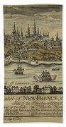 View Of Quebec City 1759 Bath Towel