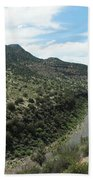 View Of Salt River Canyon Bath Towel