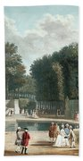 View Of The Tuileries Garden Bath Towel