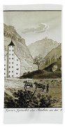 Views Of Switzerland And The Border Of Italy Hand Towel