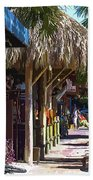Village Life II - Siesta Key Bath Towel