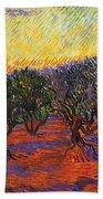 Vincent Van Gogh Bath Towel