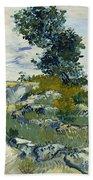 Vincent Van Gogh, The Rocks Bath Towel