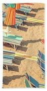 Vintage Beach Bath Towel