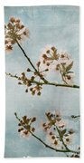 Vintage Blossoms Bath Towel