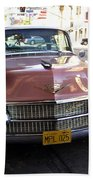 Vintage Cadillac. Luxury From The Past Bath Towel