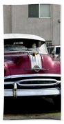 Vintage Car From 1940's Era Bath Towel