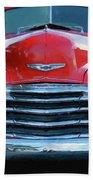 Vintage Chevy Pickup Truck Bath Towel