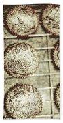 Vintage Cooking Background Bath Towel