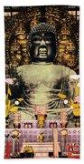Vintage Japanese Art 24 Bath Towel