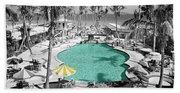 Vintage Miami Bath Towel