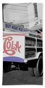Vintage Pepsi Truck Bath Towel