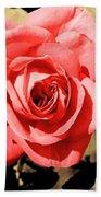 Vintage Rose 02 Bath Towel