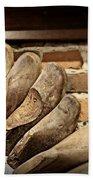 Vintage Shoe Forms Bath Towel