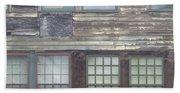 Vintage Warehouse Building Bath Towel