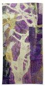 Violet Bath Towel