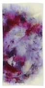Violets Abstract Hand Towel