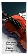 Violin Hand Towel