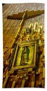 Virgen De Guadalupe 10 Bath Towel