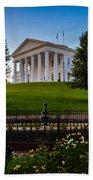 Virginia Capitol Building Bath Towel